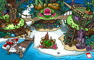 Adventure Party Temple of Fruit Dock