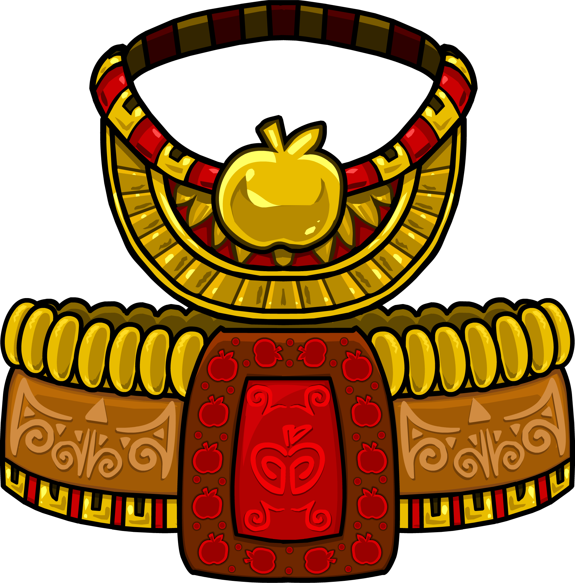 Apple Tiki Costume