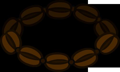 Collar de Granos de Café