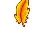 Pin de Pluma Dorada (ID 7014)