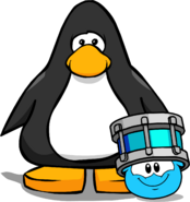 Puffle Hats drumroll player card