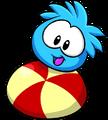 Blue PuffleBall2