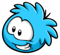 Blue Puffle Pin clothing icon ID 7048