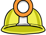 Casco de Minero (sombrero para puffles)