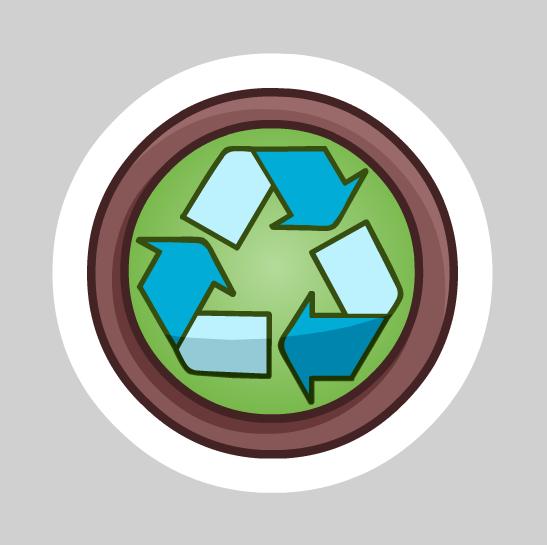 Pin de Reciclaje