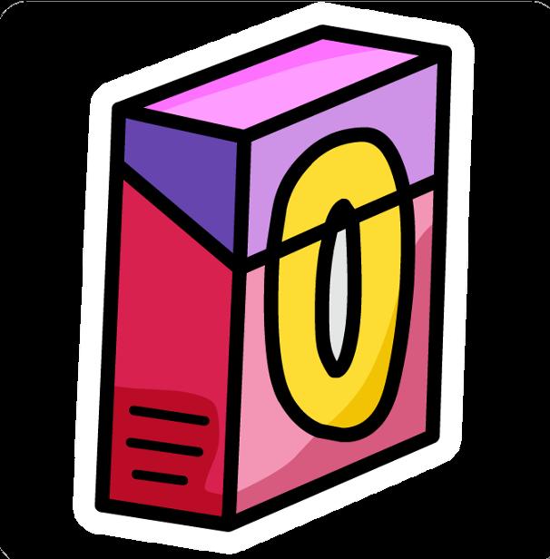 Pin de Caja de Puffitos