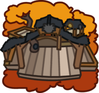 Black Puffle Tree House icon.png