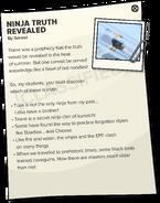 CPT 460 secret ninja truths