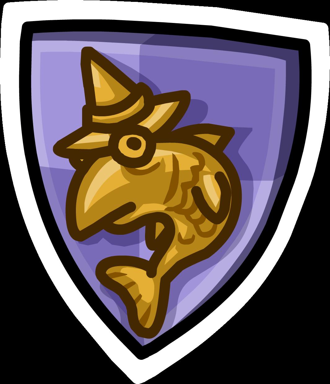 Pin de Escudo de Fluffy