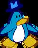 Doodle Dimension penguin Light Blue hat