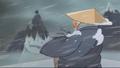 Sensei Staring at Mountain