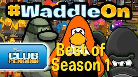 Club Penguin - WaddleOn - BEST OF Season 1