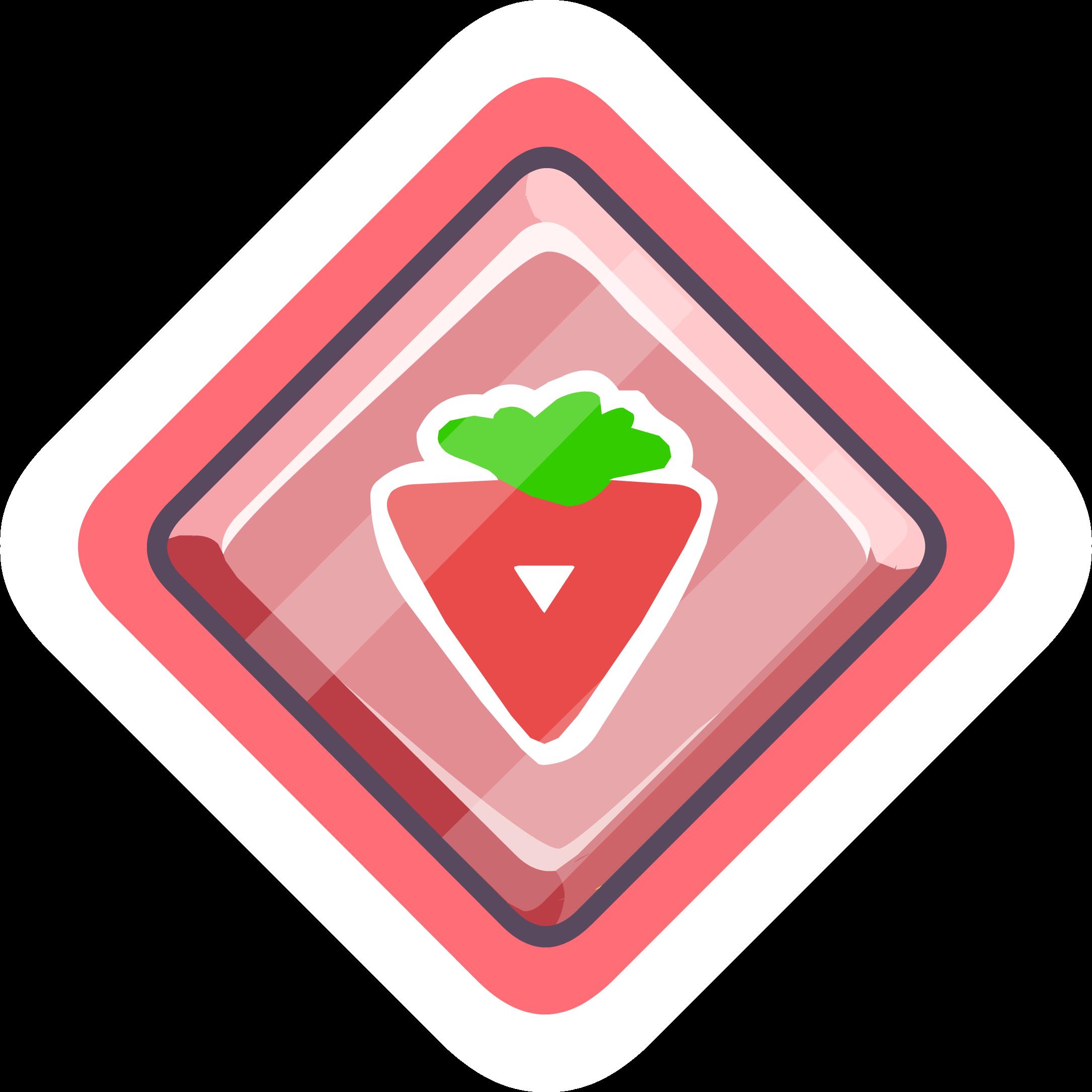 Pin de Puffito Rojo