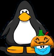 Pumpkin Lid on Player Card