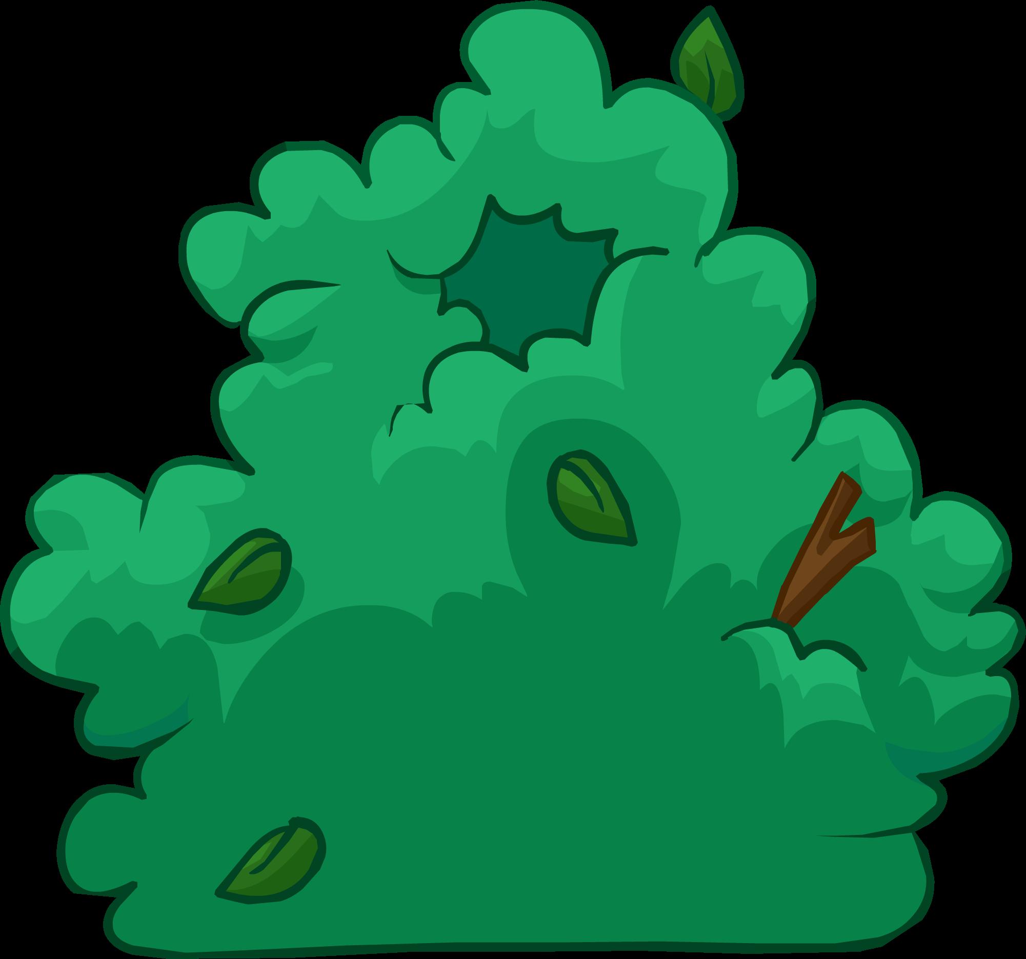 Disfraz de Arbusto