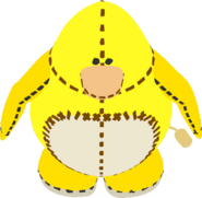 Yellow Penguin Stuffie IG