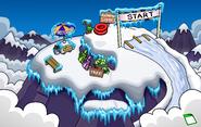 Great Snow Race Mountain Top
