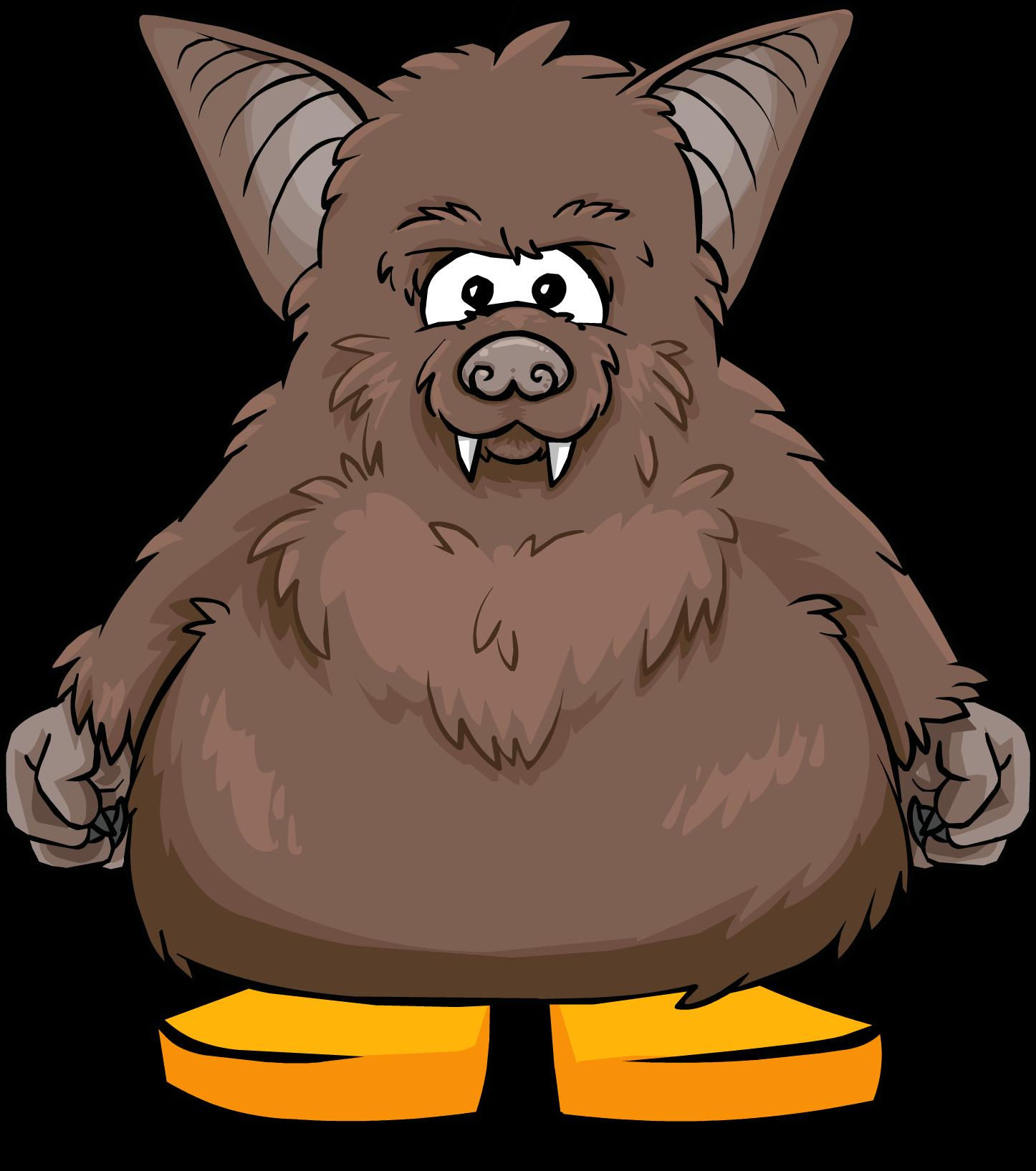 Brown Bat Costume