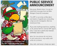 Public Service Annoucement Roookie