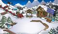 Centro de esqui destruido