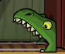 Tyranasaurus mouth