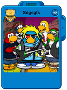 New penguin baand