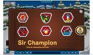 Album de estampillas de Sir Champion