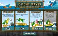 Catchin' Waves Startscreen