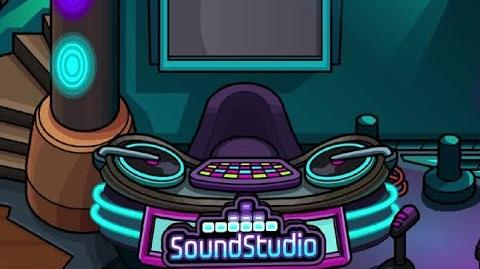 Club Penguin Soundstudio Sneak Peek
