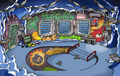 Puffle Party 2011 Underground Pool