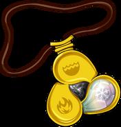 Amulet icon snow gem