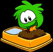 Green PuffleFood