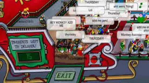 Club Penguin - Meeting Aunt Arctic (December '09).wmv