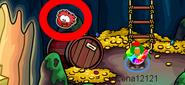 Rojo puffle pin localizacion