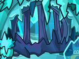 Frost Bite Cavern Background