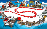 Rockhopper's Arrival Party Dock