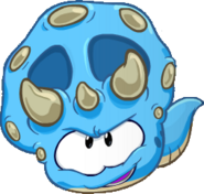 Blue Dino Puffle Handbook