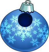 Blue Snowflake Bauble clothing icon ID 24004.PNG