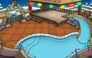 Beach Party Igloo with location and flooring