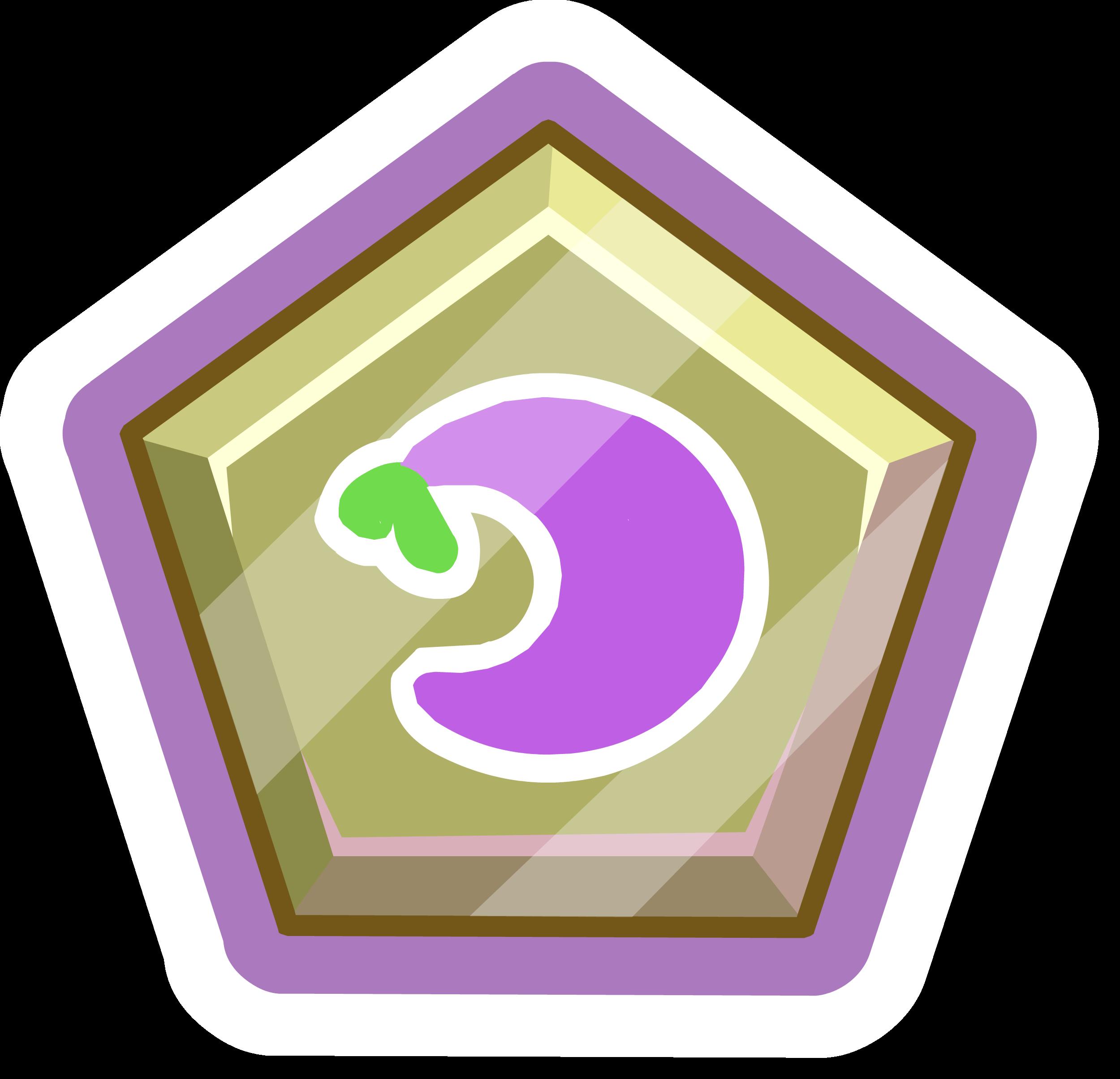 Pin de Puffito Violeta