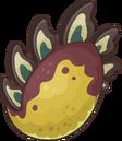 Prehistoric 2014 Eggs Stegosaurus Yellow