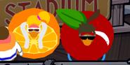 Annoying orange gag