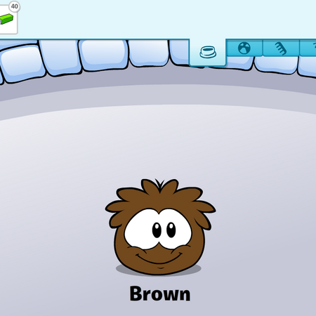 Brown Puffle caring card.png