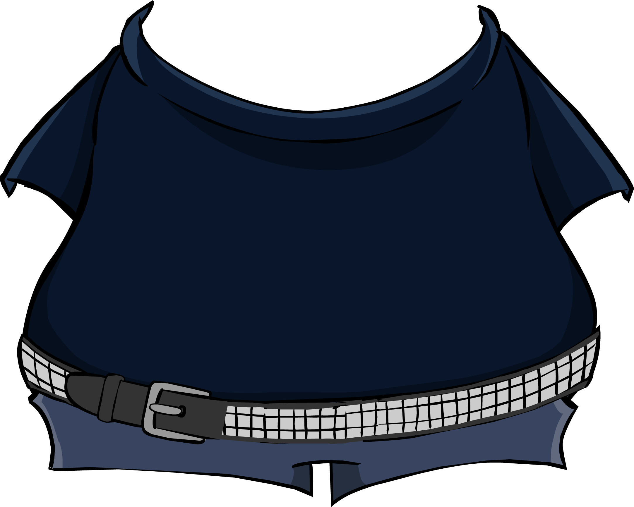 Stompin' Bob Black T-Shirt and Jeans