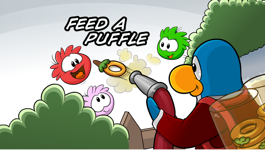Feed-A-Puffle (Game Day!)