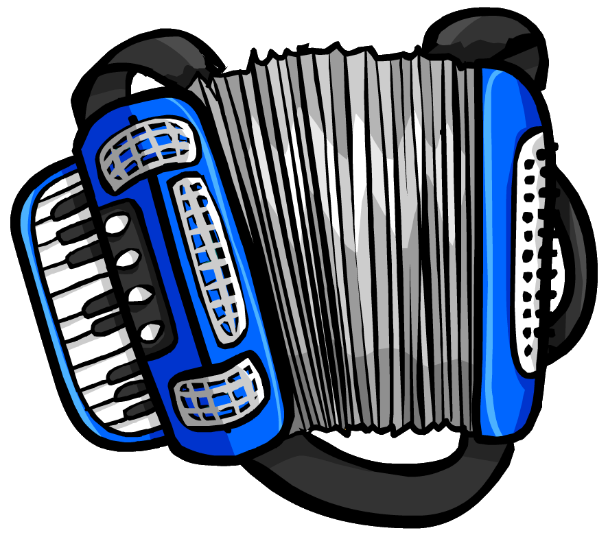 Blue Accordion