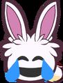 Emoticon Puffle Conejo
