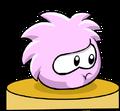 Pink PufflePodium
