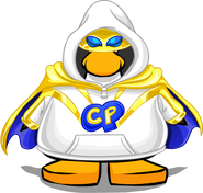 Super Hero Hoodie from a Player Card
