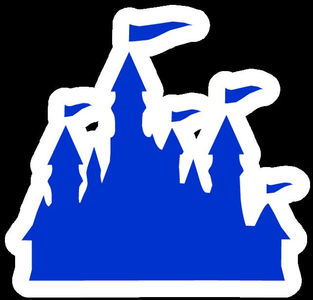 Pin de Castillo Azul